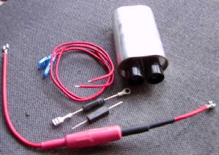 整流二极管/高压导线/接线端子/高压保险丝