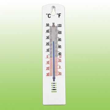 室内塑料温度计