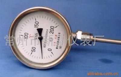 双金属温度计wss-411