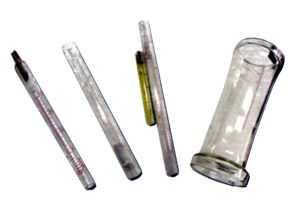 玻璃锥管、测量玻管