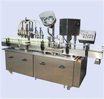 厂家直销 广州全自动液体膏体灌装封口生产线