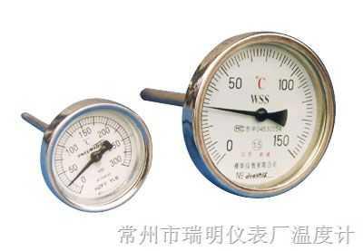 WSS双金属温度计,WSSX双金属温度计,WSSX电接点双金属温度计,WSS型双