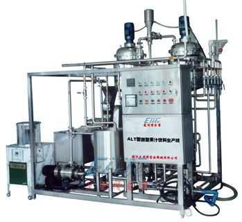 ALT型微型果汁饮料生产线