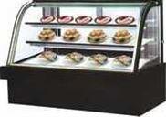 弧形蛋糕柜(黑金沙大理石)