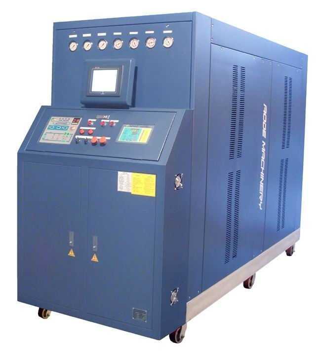 高光无熔痕注塑模具温度控制系统