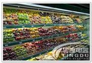 超市风幕柜 鲜奶风幕柜