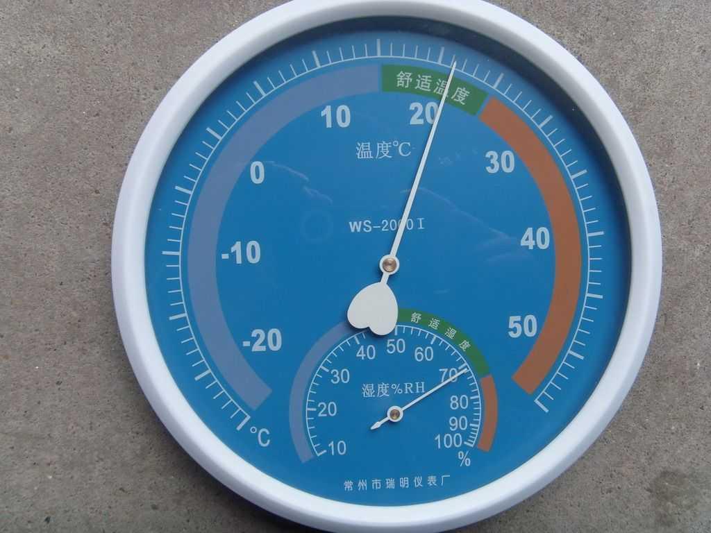 指针式温度计,指针式温湿度计