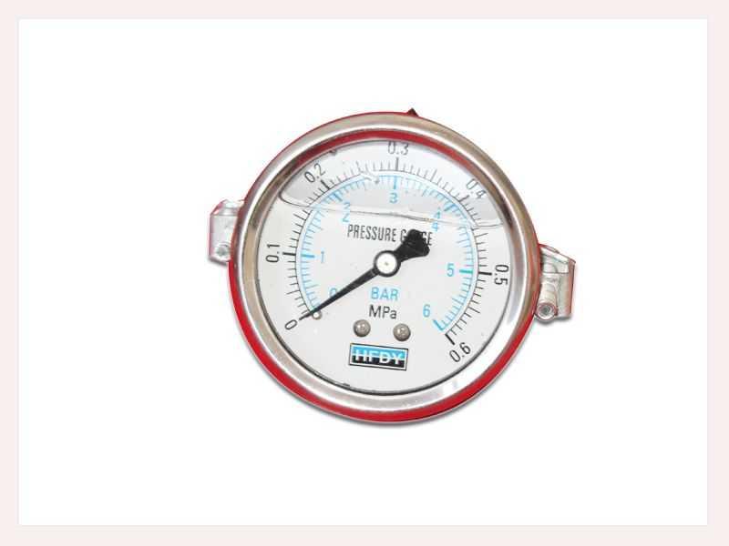 耐振压力表(轴向带支架型)
