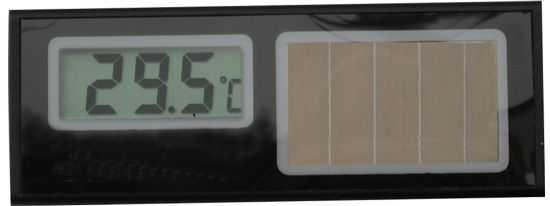 太阳能温度计