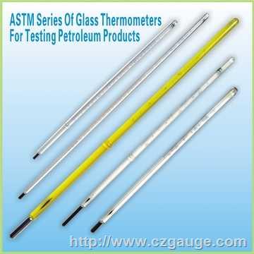蒸馏用温度计,高蒸馏温度计,低蒸馏温度计,石油温度计,ASTM温度计