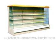 A型豪华风幕柜 超市冷柜 立式陈列柜 多层展示柜