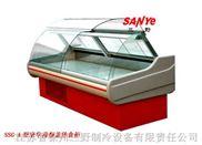 熟食柜 保鲜柜 鲜肉柜 圆弧玻璃罩前翻盖熟食柜台柜