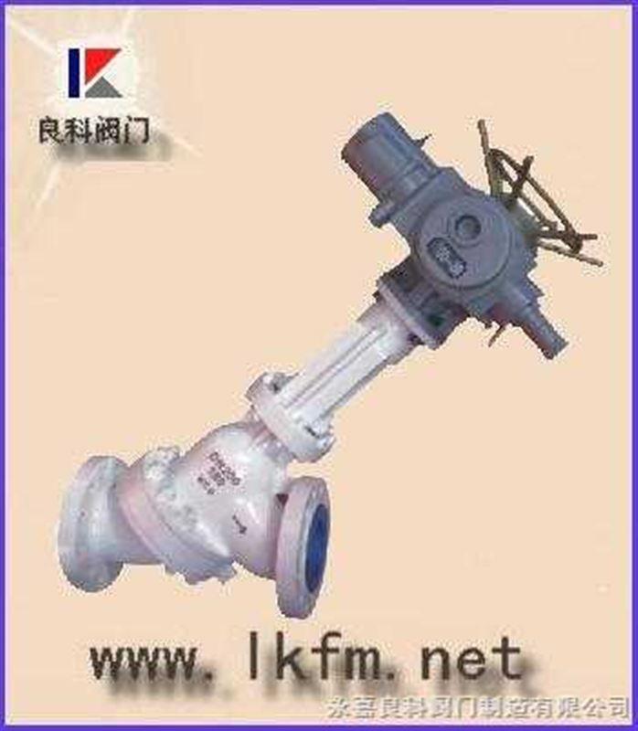 js945y 电动y型料浆阀图片
