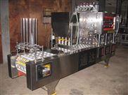 QCF系列气动式自动水杯豆浆豆奶八宝粥珍珠奶茶灌装封口机