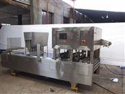 QCF系列气动式自动水杯豆浆豆奶八宝粥果冻灌装封口机