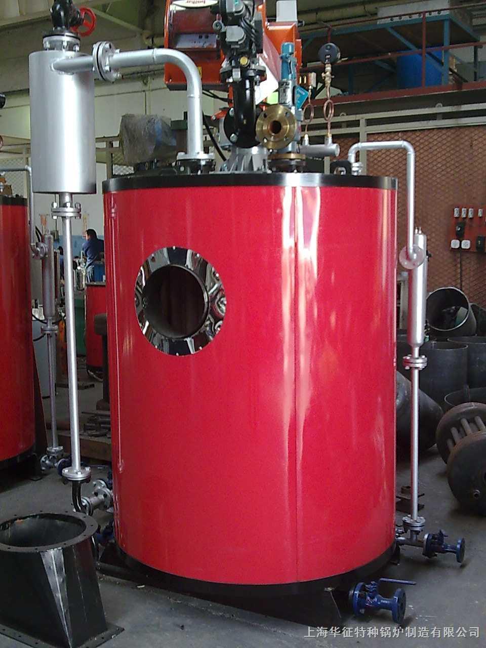 学校供应热水立式燃气蒸汽锅炉