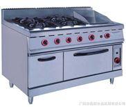 【广州富祺】GH-996A落地式燃气四头煲仔炉 连扒炉连焗炉 质量棒 欢迎订购