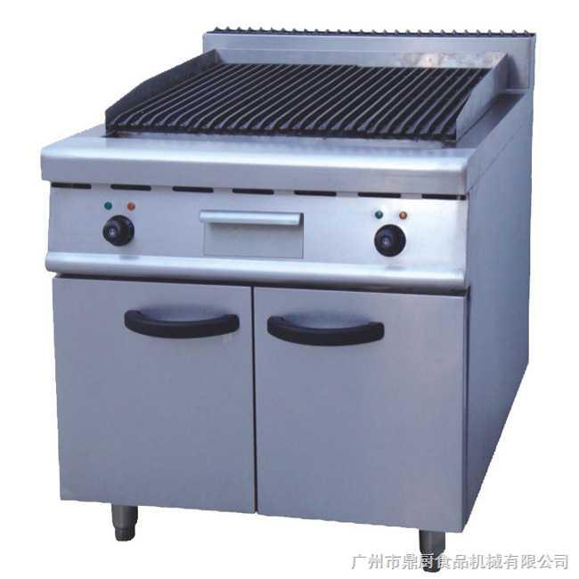 组合落地式电烧烤炉连柜座