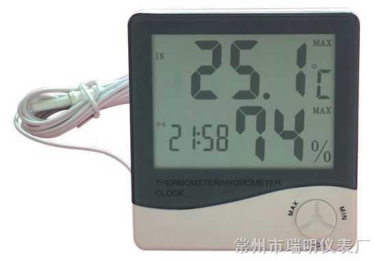 户外温度计,户外温湿度计,户外数字式温湿度计,户外用电子温湿度计,房间用电子温湿度计,家里用温湿度计
