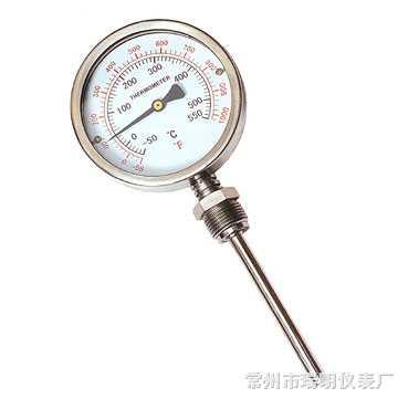 WSS-311径向型双金属温度计,WSS-411径向型双金属温度计,WSS-511径向型双金属温度计