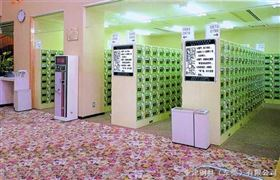 18门感应锁存包柜浴室存包柜,海滨浴场存包柜,电子锁存包柜