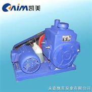 2X双级旋片式真空泵,油封式真空泵