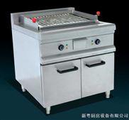 立式电热烧烤炉连柜座