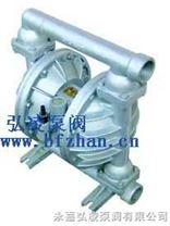 QBY铝合金四氟气动隔膜泵