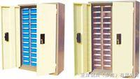 YS-1412D-2透明零件柜48抽带门零件柜代理,48抽防静电零件柜批发