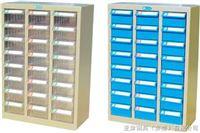YS-1308-1蓝色盒零件柜24抽带门防油性零件柜批发,24抽防静电元器件柜批发