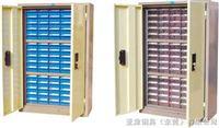 2515D-2零件柜75抽防油性零件柜,零件整理柜,75抽带门零件柜