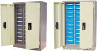 3310D-1带门带锁零件柜30抽防静电零件整理柜,30抽防油性零件柜