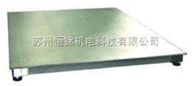吴江3T全不锈钢电子小地磅