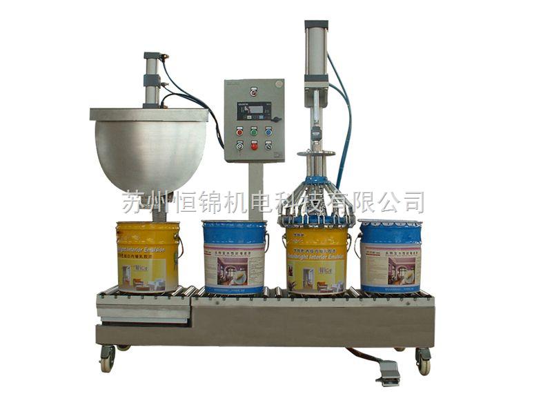 苏州市场热销油漆桶灌装机