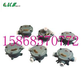 AH/BHD51-G1/2 铸铝三通防爆接线盒 AH/BHD51-DN20三通平分线盒