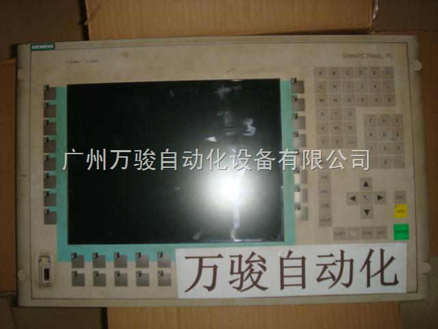 广州西门子工控机维修PC670白屏故障维修