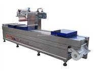 DLZ520C自动连续拉伸豆干真空包装机