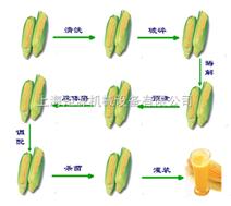 中试玉米汁饮料生产线