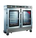 供应厨房蒸米饭设备/蒸饭柜/可视蒸饭车-康庭电热蒸饭车
