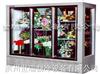 三门鲜花柜-立式鲜花柜-鲜花展示柜