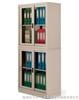 上下玻璃移门书柜档案柜,资料柜,文件柜