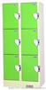 6门投币锁储物柜投币锁储物柜 投币柜 投币式存包柜 投币锁柜