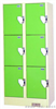 6门更衣柜投币式机械式储物柜,员工储物柜,寄存柜