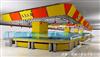 超市不锈钢设备(黄色)