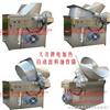 薯片薯条油炸机、不锈钢电加热油炸锅、油水混合油炸设备