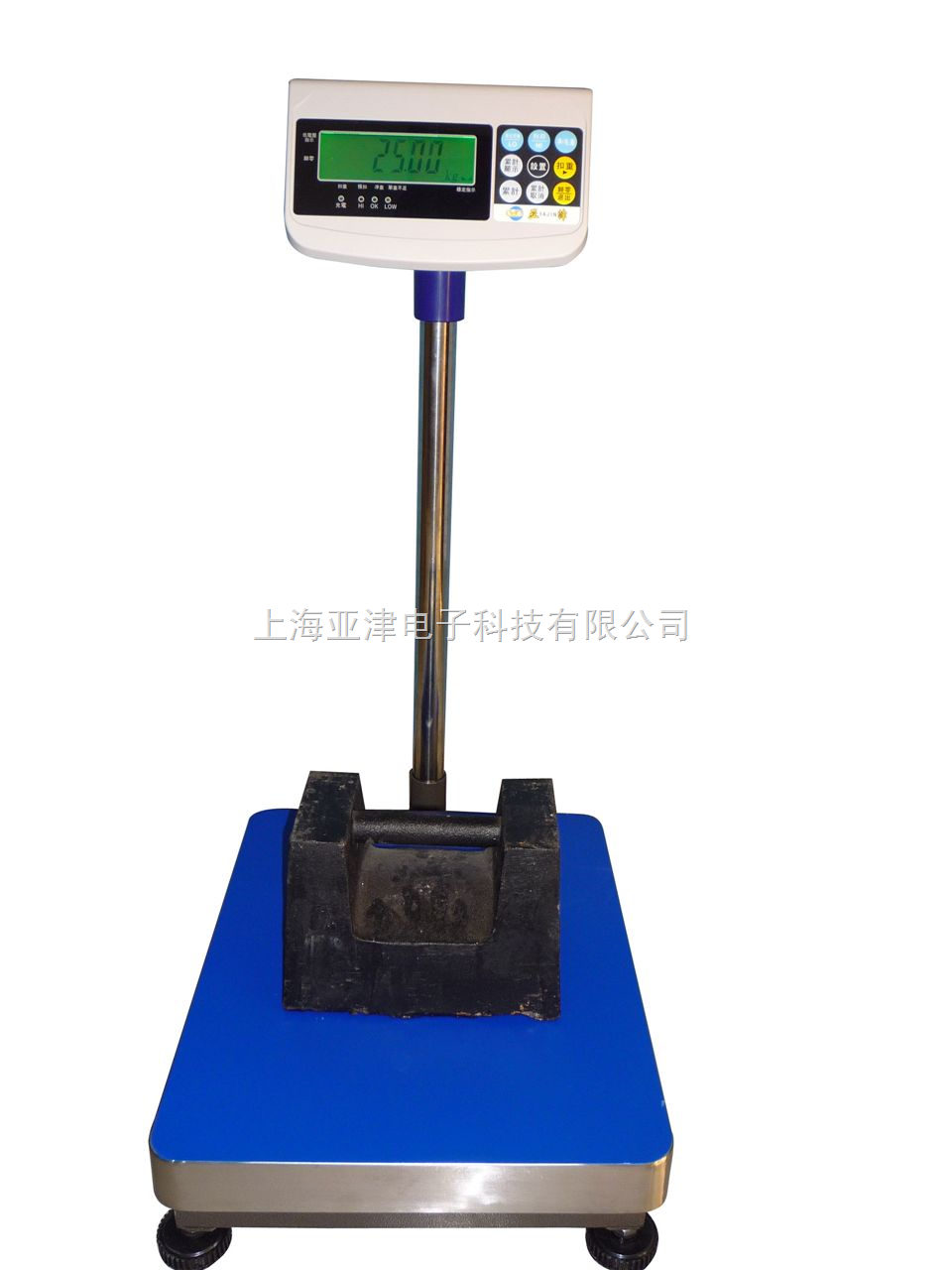 TCS-150KG400*500MM台面电子磅秤