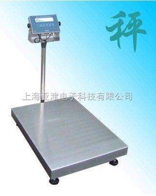 TCS上海100公斤防潮防水电子秤不锈钢防水台秤直销